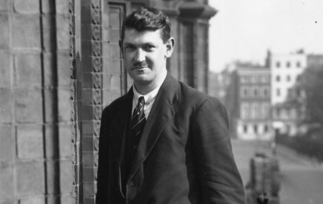 Michael Collins, pictured in London in October 1921 during Anglo-Irish negotiations