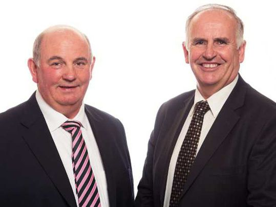 Brian and Luke Comer, head of one of the largest property groups in Britain, to be recognized at prestigious awards.