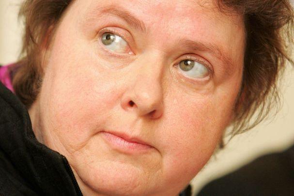Irish journalist and documentary maker Mary Raftery.
