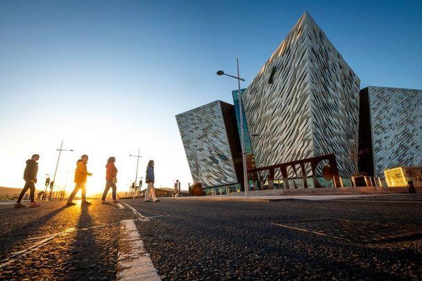 The Titanic Belfast building
