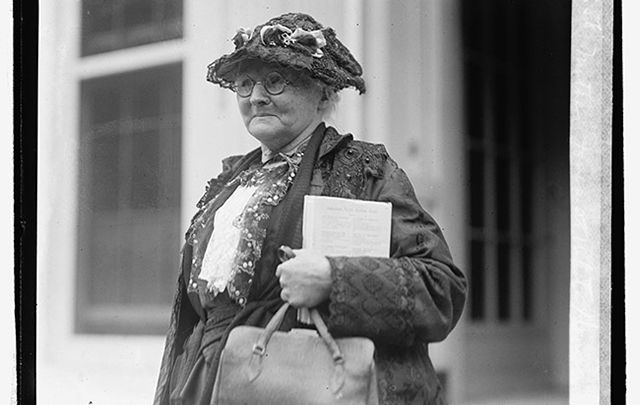 Mother Jones at the White House.