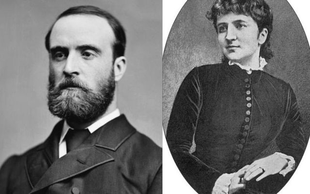 Charles Parnell and Kitty O\'Shea: Ireland's favorite romantic couple married just months before the Irish hero died in her arms.