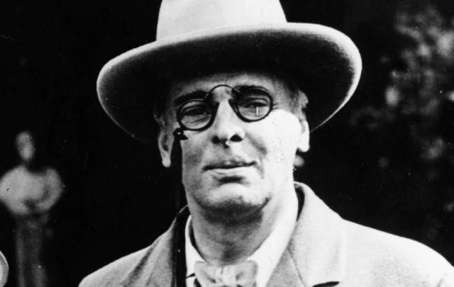 Irish writer William Butler Yeats.