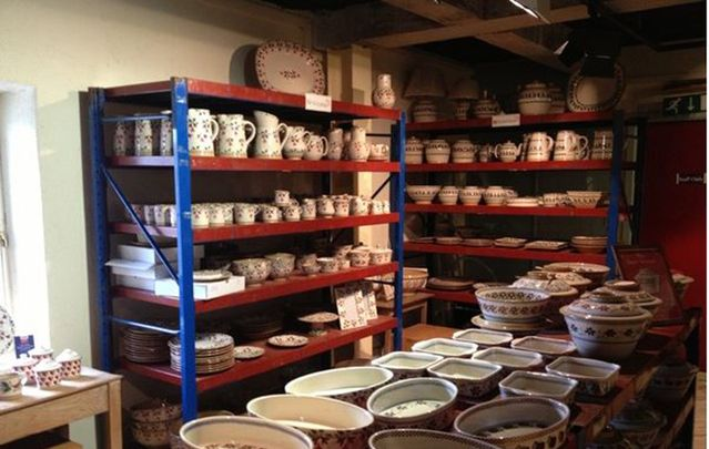 Nicholas Mosse Pottery is a true Irish original.