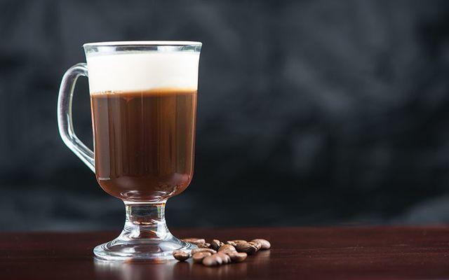 The perfect warming Irish coffee.