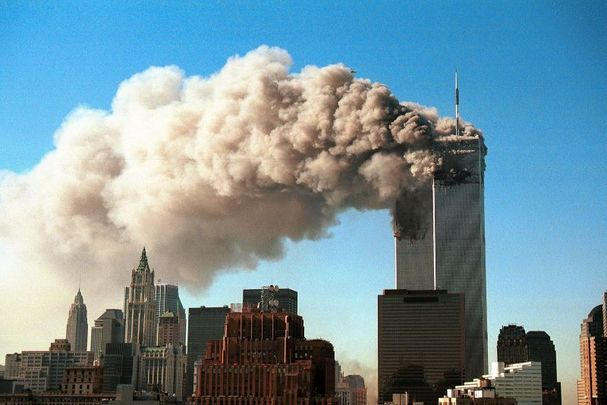 A day that will live in infamy: The Twin Towers on September 11, 2001.