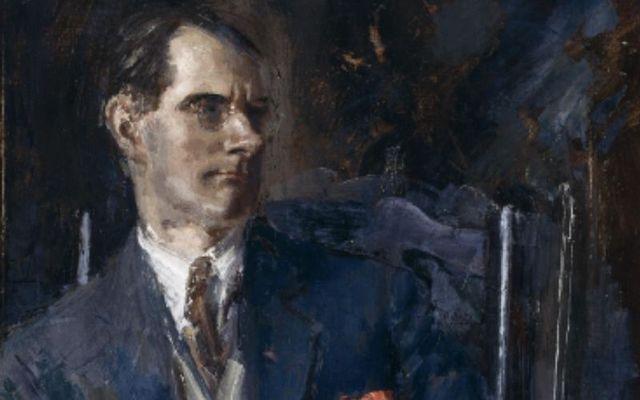 Portrait of Irish playwright Sean O\'Casey.