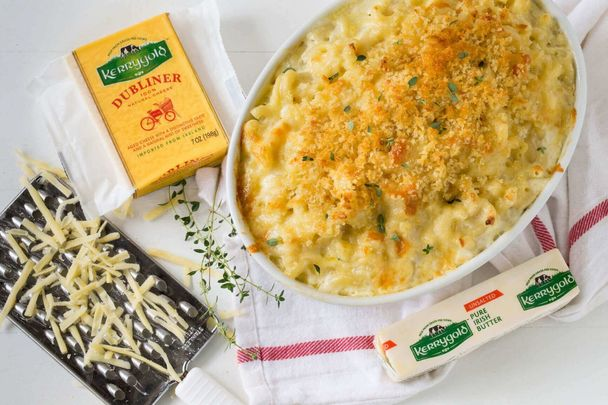 Take your basic mac and cheese to the next level.