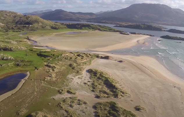 This drone footage of the Mayo coast proves the Irish landscape is a thing of wonder and beauty.