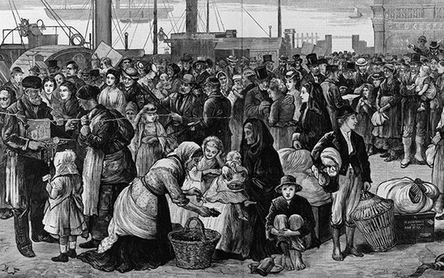 On May 31, 1847, forty ships lay off Grosse Île with 12,500 passengers packed as human ballast.
