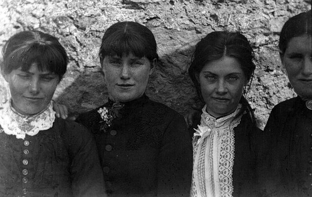 The O'Halloran sisters lived in Bodyke, Co. Clare