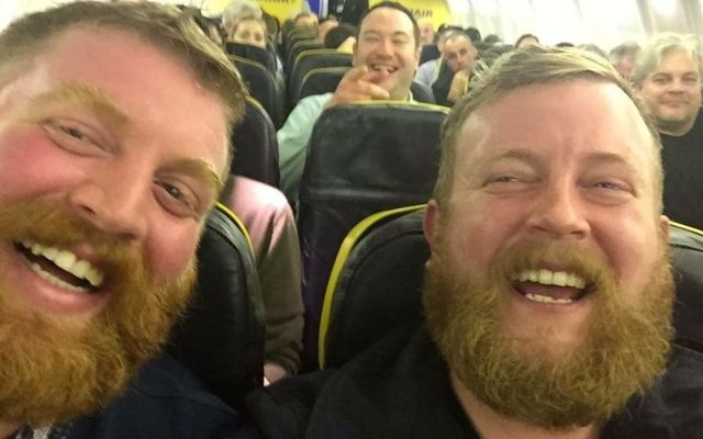 Robert Stirling and Neil Thomas Douglas, two strangers who share an uncanny likeness, met each other on a flight to Galway.