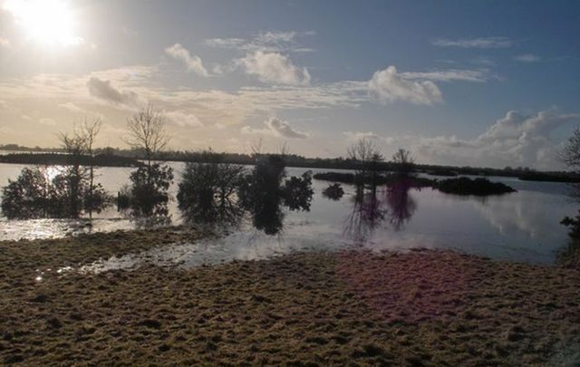 Lough Funshinagh in County Roscommon.
