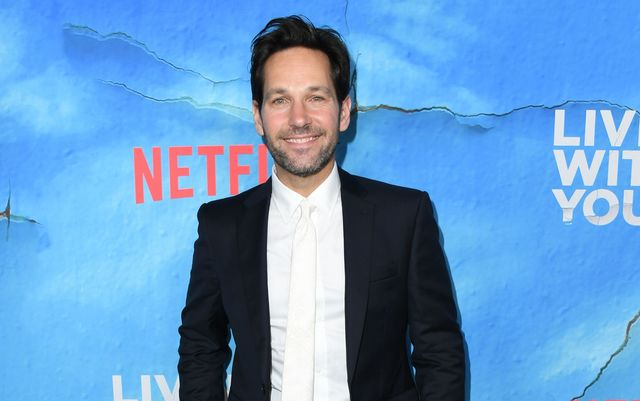 Paul Rudd at the premiere of Living with Yourself.