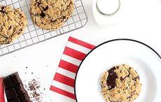 Irish chocolate chip cookies made with Kerrygold recipe