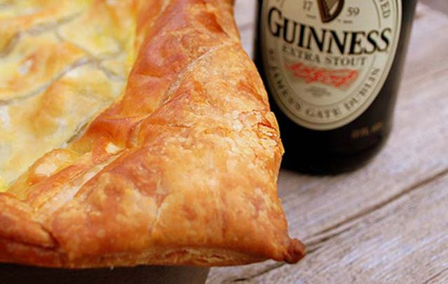 Guinness, steak and cheese pie recipe - Because spring isn't arriving soon enough!