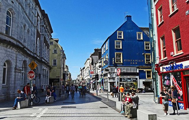 Oliver Plunkett Street wins coveted UK award exactly 300 years after it was laid out in 1715.