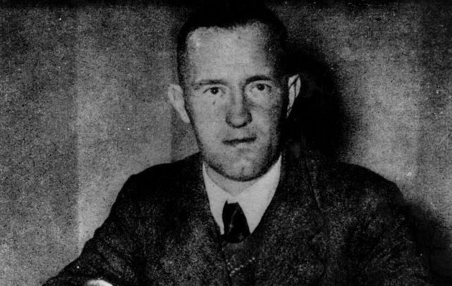 Irish American William Joyce, better known as Lord Haw Haw, was a Nazi propagandist during WWII.