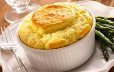 Thumb irish oatmeal  bacon and cheddar souffle  recipe via michael foley