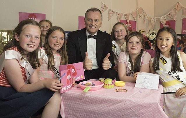 Presenter of Kerry international extravaganza faced his toughest interview yet by this year's Rose Buds.