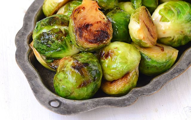 Chef Gilligan's Brussels sprouts
