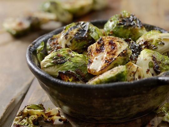 Chef Gilligan\'s Brussels sprouts
