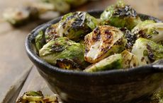 Thanksgiving sweet and spicy Brussels sprouts recipe