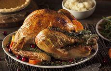 Thumb cut thanksgiving roast turkey istock