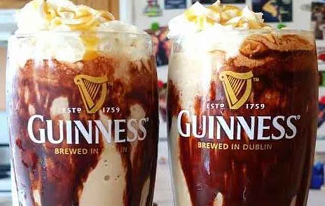 Guinness Ice Cream Float