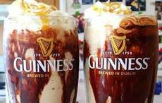 Guinness and Jameson ice cream float recipe