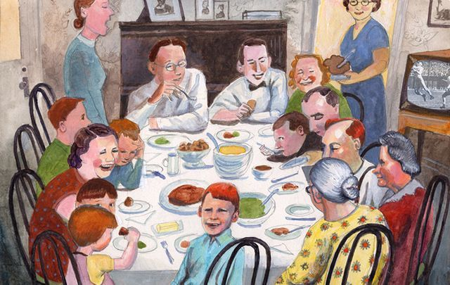 What Thanksgiving meant to an Irish family in New York, right after World War II.