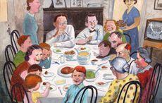 "A Bronx Irish Thanksgiving in days gone by saw children dress up as ""ragamuffins"""
