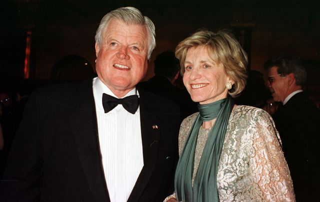 The late Senator Ted Kennedy and his sister who has just passed away, Jean Kennedy Smith.