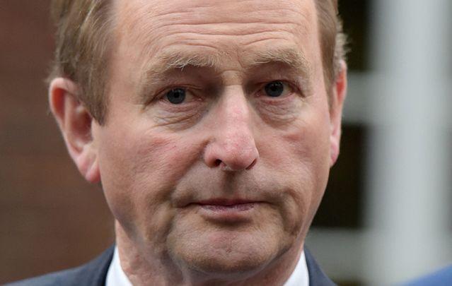 Taoiseach Enda Kenny.