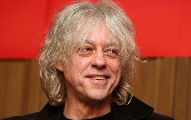Irish singer Bob Geldof was born on October 5, 1951