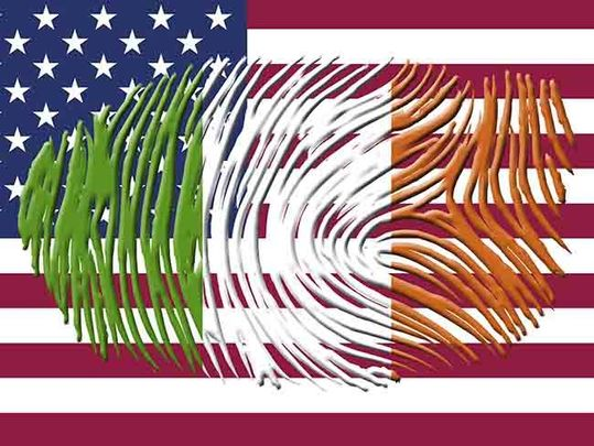 Irish-American ties run deeper than one might think at first glance.