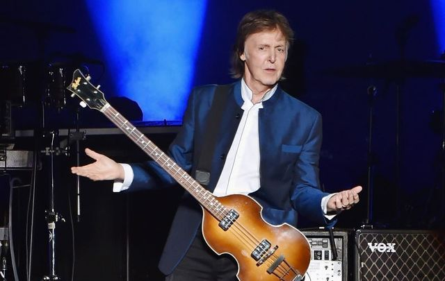August 7, 2016: Paul McCartney performs in concert at MetLife Stadium in East Rutherford, New Jersey.
