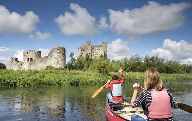 Trim Castle, part of Ireland\'s Ancient East: More historical and cultural attraction in the east and south of Ireland as tourism continues to boom.