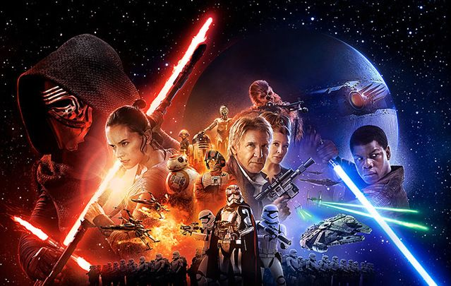 New Disney blockbuster, Star Wars The Force Wakens, breaks records for ticket sales in US, Canada and Ireland.