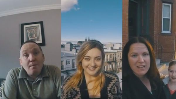 Niamh Callanan had been been living abroad over 13 years without ever going back home. Until this moment, her daughter Saoirse had never visited Ireland before.