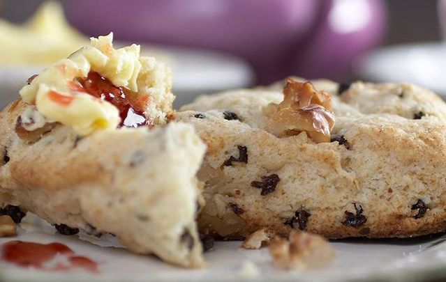 These buttery Irish scones are the perfect treat with breakfast or your afternoon cuppa tea.
