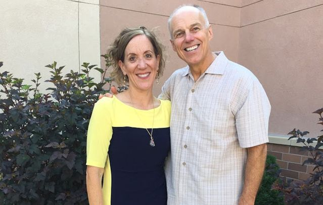 Maureen Thielen with her husband Charles.