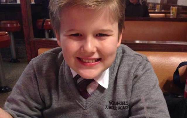 Danny Fitzpatrick, a 13-year-old student from Holy Angels Catholic Academy in New York, hanged himself after being bullied in school.