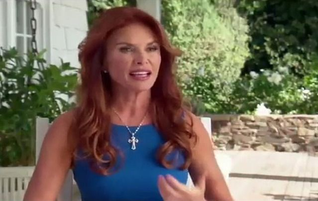 Derry native Roma Downey was surrounded by family and friends as she received a star on the Hollywood Walk of Fame last week.