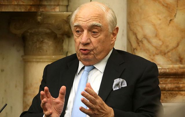 Peter Sutherland, United Nations special representative on migration.