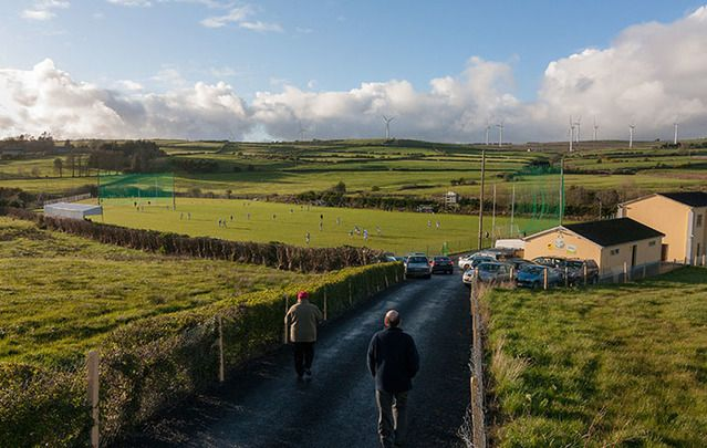 Tournafulla v  Feohanagh, at Castlemahon, County Limerick: Cork man travels 31,000 miles over seven years creating a photography documentary of GAA club games.