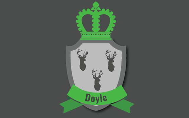 Here are some interesting facts about the Irish last name Doyle, including its history, family crest, coat of arms, and famous clan members.