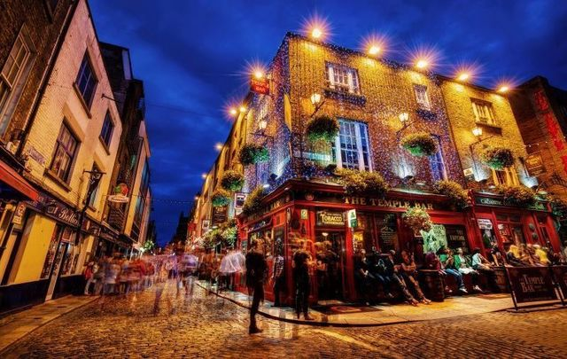 Temple Bar in Dublin - the scene for many craic-filled nights!