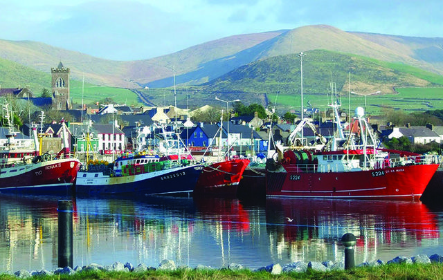 Wonderful locations that would make your life heaven. Above: Dingle Marina, Co. Kerry.