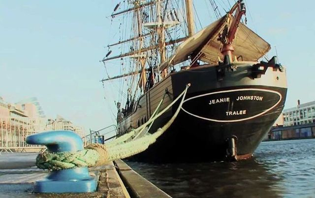 The Jeanie Johnson Famine Ship and Museum in Dublin.